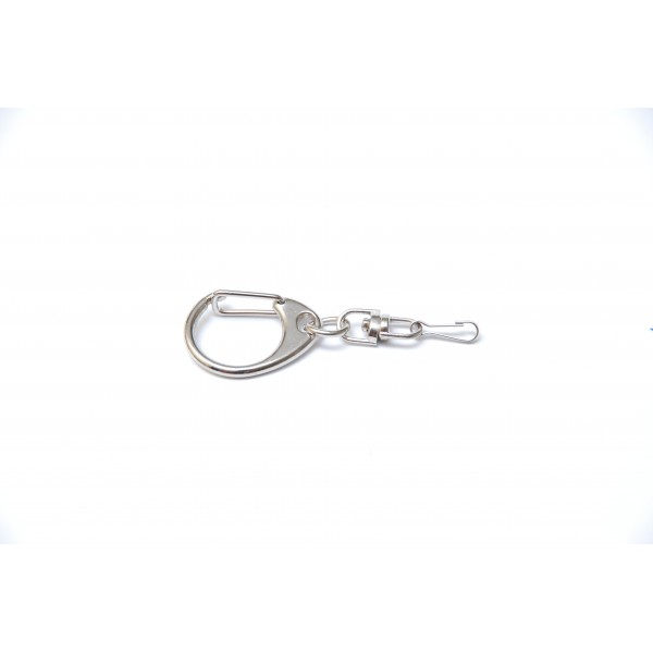 Key ring with metal hook A02