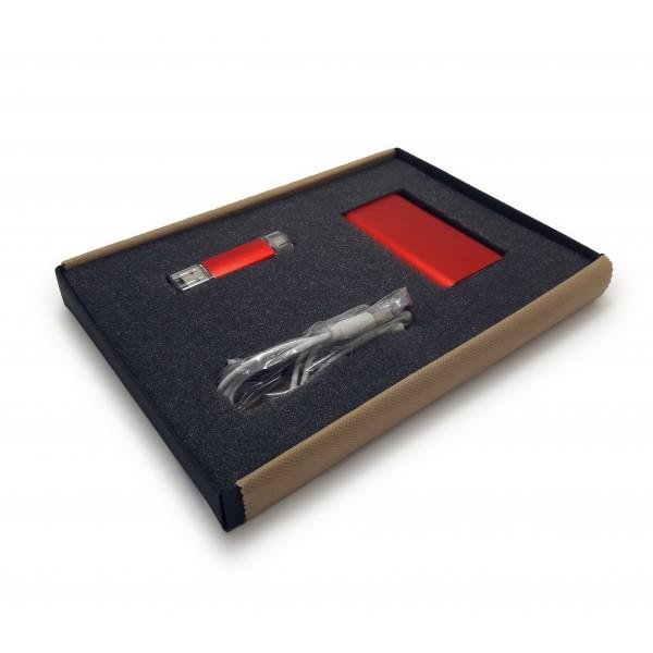 SET 4 IN BOX T5 (Powerbank PB37 + Pendrive C179 smart)
